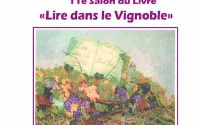 Salon du livre «Lire dans le vignoble» 7 octobre